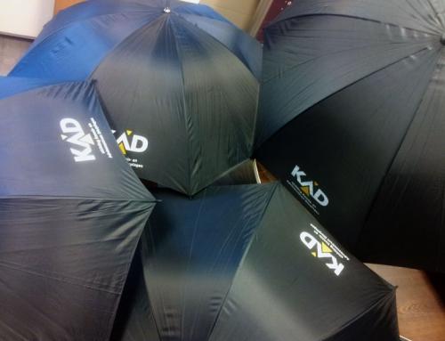 Bedrukte Paraplu's voor Kennis- en Adviescentrum Dierplagen