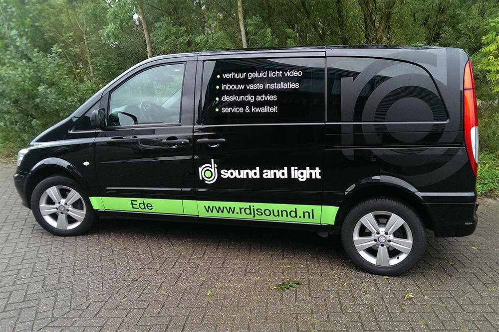 Autobelettering RDJ sound