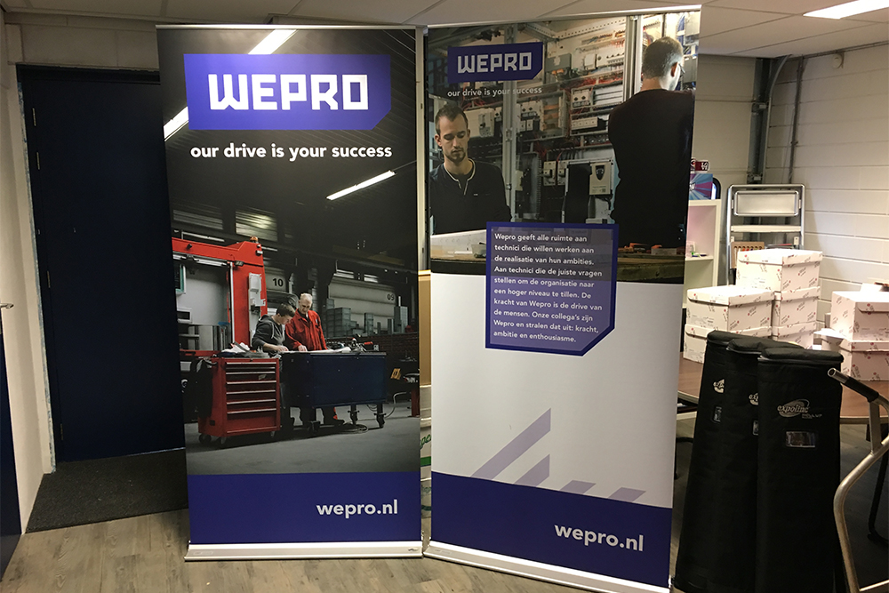 Rollup banner- Wepro