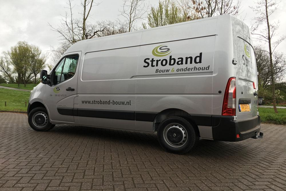 Autobelettering – Stroband