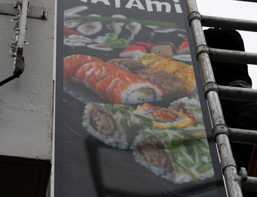Lichtbak Reclame – Restaurant Watami