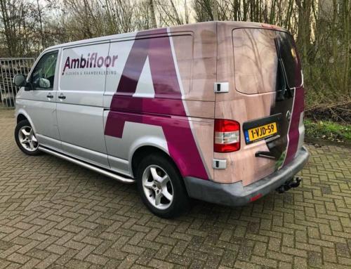 Autobelettering Ambifloor Veenendaal