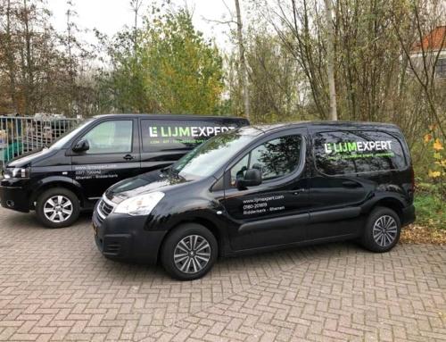 Autobelettering voor LijmExpert Rhenen